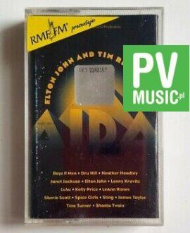 ELTON JOHN AND TEAM RICE'S AIDA LENNY KRAVITZ, SHANIA TWAIN.. audio cassette
