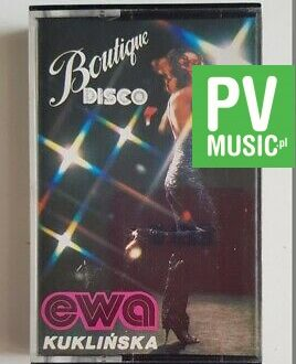 EWA KUKLIŃSKA BOUTIQUE DISCO audio cassette