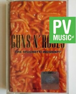 "GUNS N' ROSES  - ""THE SPAGHETTI INCIDENT?"" audio cassette"