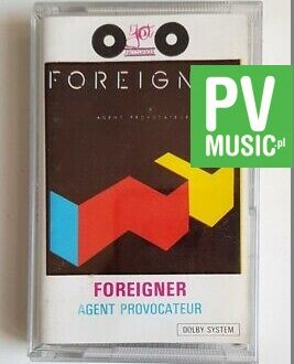 FOREIGNER AGENT PROVOCATEUR audio cassette