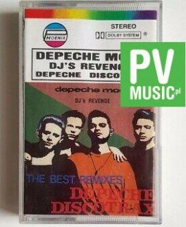 DEPECHE MODE DJ'S REVENGE DEPECHE DISCO TRAX audio cassette