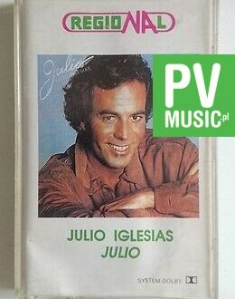 JULIO IGLESIAS JULIO     audio cassette