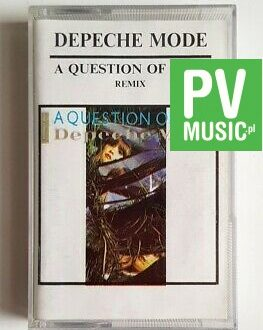 DEPECHE MODE A QUESTION OF TIME REMIX audio cassette