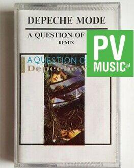 DEPECHE MODE A QUESTION OF TIME REMIX audio cassette