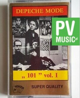 DEPECHE MODE 101 vol.1 audio cassette