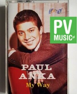 PAUL ANKA MY WAY audio cassette