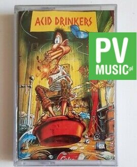 ACID DRINKERS ARE YOU A REBEL? audio cassette
