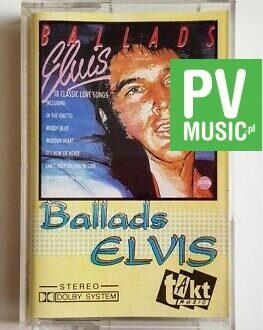 ELVIS PRESLEY BALLADS audio cassette