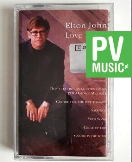 ELTON JOHN LOVE SONGS audio cassette