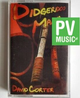 DAVID CORTER DIDGERIDOO MANIA audio cassette
