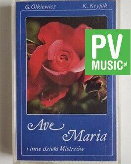 AVE MARIA I INNE DZIEŁA MISTRZÓW audio cassette