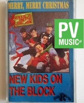 NEW KIDS ON THE BLOCK MERRY, MERRY CHRISTMAS audio cassette