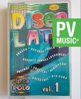 DISCO LATO vol.1 SHAZZA, AKCENT.. audio cassette