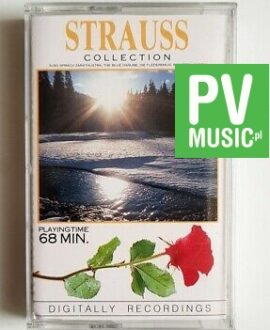 STRAUSS COLLECTION audio cassette