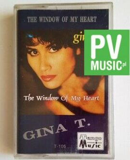 GINA T. THE WIDOW OF MY HEART audio cassette