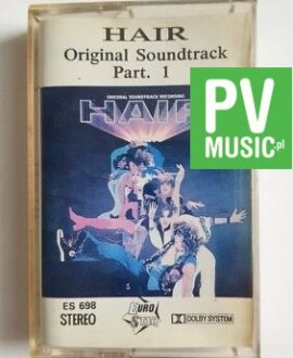 HAIR - SOUNDTRACK PART.1 audio cassette