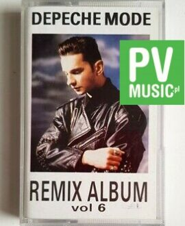 DEPECHE MODE REMIX ALBUM vol.6 audio cassette