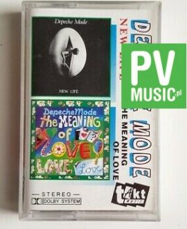 DEPECHE MODE NEW LIFE/THE MEANING OF LOVE audio cassette