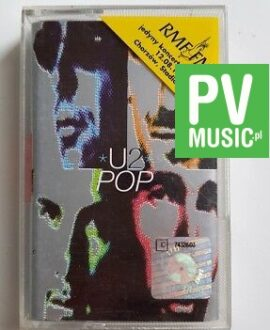 U2 POP audio cassette