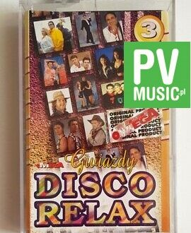 DISCO RELAX 3 TOP ONE, REDOX.. audio cassette