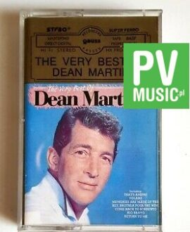 DEAN MARTIN THE VERY BEST OF audio cassette