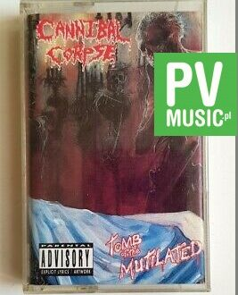 CANNIBAL CORPSE TOMB OF THE MUTILATED audio cassette