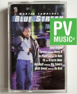 BLUE STREAK THE ALBUM audio cassette