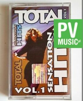 TOTAL SENSATION HITS vol.1 2 UNLIMITED, C.B.MILTON..  audio cassette