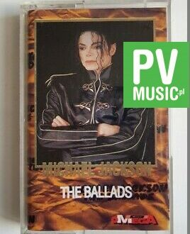 MICHAEL JACKSON THE BALLADS audio cassette