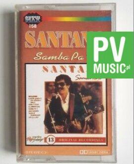 SANTANA SAMBA PA TI  audio cassette