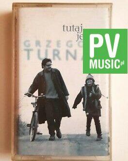 GRZEGORZ TURNAU TUTAJ JESTEM  audio cassette