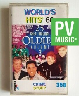 WORLD'D HITS 60 JOHNNY RAY, LLOYD PRICE.. audio cassette