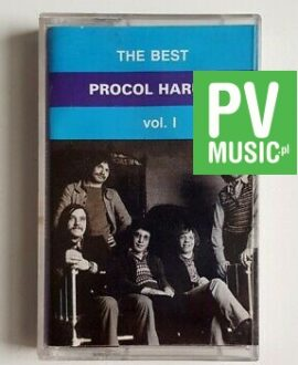 PROCOL HARUM THE BEST vol.1 audio cassette
