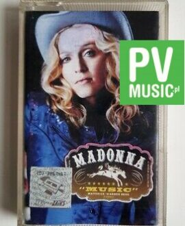 MADONNA MUSIC audio cassette