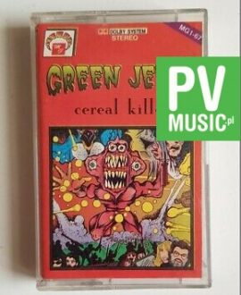 GREEN JELLY CEREAL KILLER audio cassette