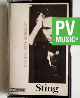 STING ...NOTHING LIKE THE SUN  audio cassette
