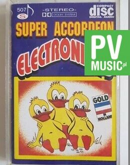SUPER ACCORDEON ELECTRONICA'S audio cassette
