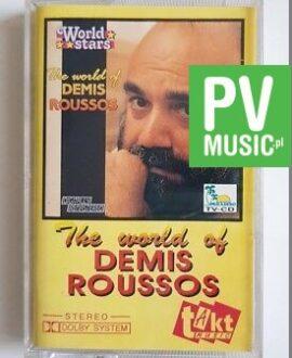 DEMIS ROUSSOS THE WORLD OF audio cassette