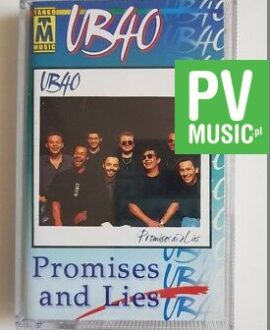 UB 40 PROMISES AND LIES audio cassette