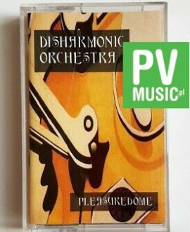 DISHARMONIC ORCHESTRA PLEASUREDOME audio cassette
