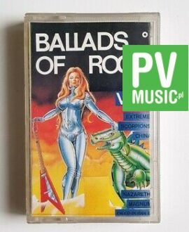 BALLADS OF ROCK SCORPIONS, NAZARETH, DEEP PURPLE.. audio cassette