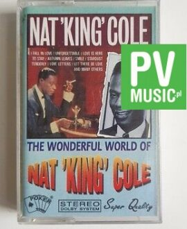 NAT 'KING'COLE THE WONDERFUL WORLD OF **  audio cassette