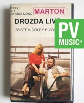 DROZDA LIVE vol.1 audio cassette