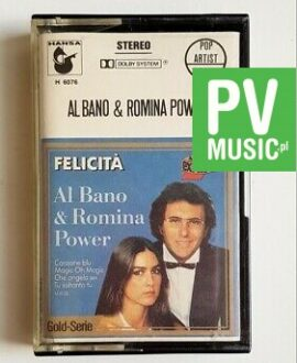AL BANO & ROMINA POWER FELICITA audio cassette