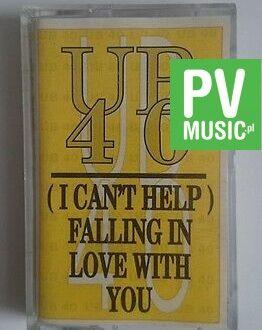 UB 40  I CAN'T HELP FALLING...   audio cassette