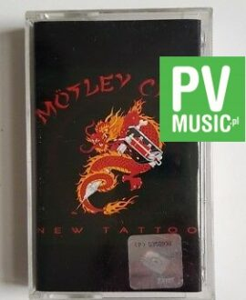 MOTLEY CRUE NEW TATTOO audio cassette