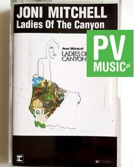 JONI MITCHELL LADIES OF THE CANYON audio cassette