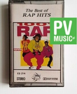BEST OF RAP HITS ICE MC, RAP IV RAP.. audio cassette