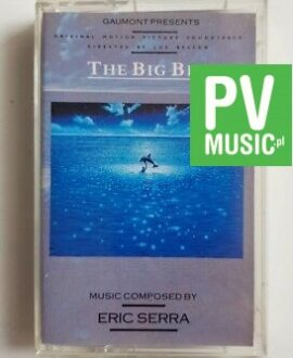 THE BIG BLUE SOUNDTRACK audio cassette