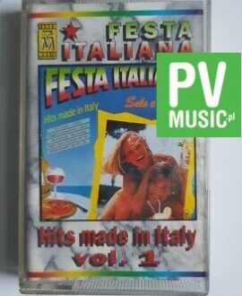 FESTA ITALIANA HIT ITALY audio cassette